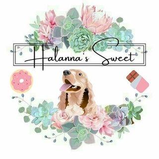 Logo de H A L A N N A ' S  S W E E T✨