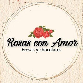 Logo de Rosas Con Amor🍓🌹