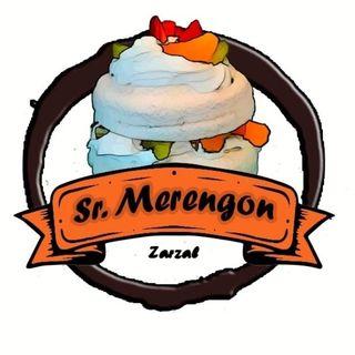 Logo de Sr.Merengon y postres