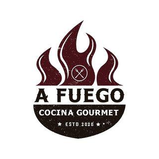 Logo de A fuego Cocina Gourmet