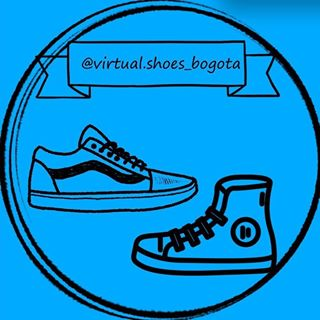 Logo de Virtual.shoes_Bogota