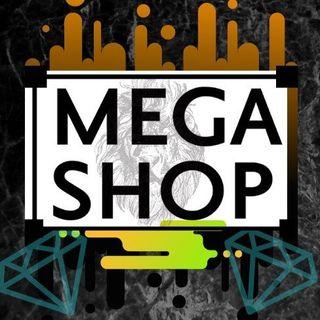 Logo de mega shop