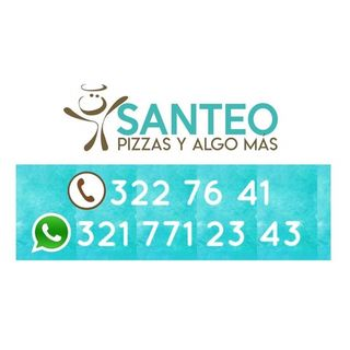 Logo de Santeo pizzas