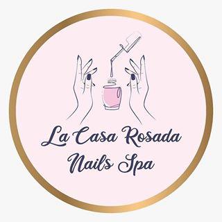 Logo de La Casa Rosada Nails Spa