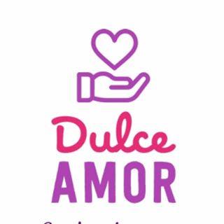 Logo de D U L C E 🍭🍰🍮 A M O R 🥄❣