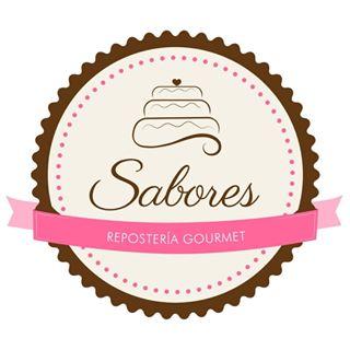 Logo de SABORES reposteria gourmet