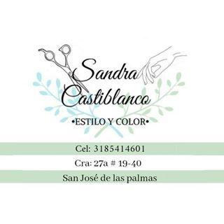 Logo de Sandra estilo y color