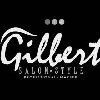 Logo de peluquería Gilbert Stylo