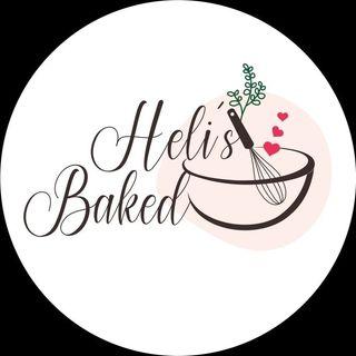 Logo de Heli's Baked | Dulce y Salado.