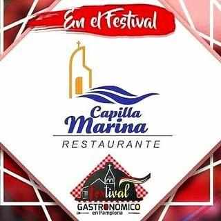 Logo de restaurante capilla marina