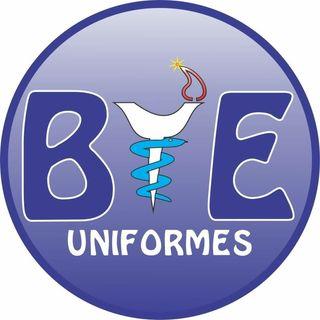 Logo de Uniformes Blanco y Estampados