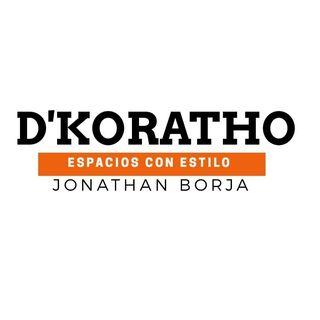 Logo de @D'koratho.espacios .