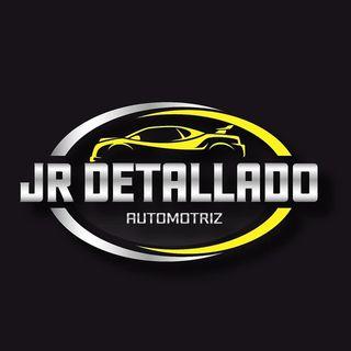 Logo de JR detallado automotriz