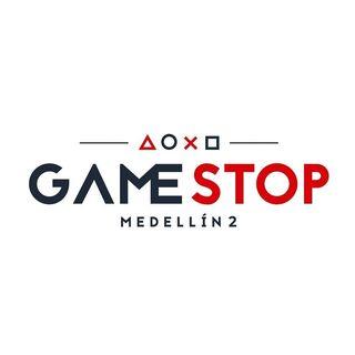 Logo de GameStop Medellin