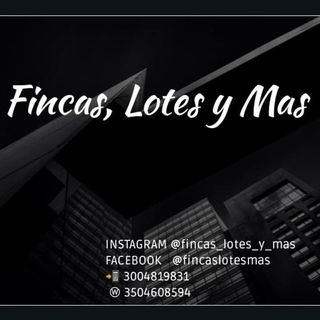 Logo de FINCAS- LOTES- CASAS- CARROS