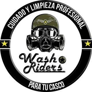 Logo de Wash Riders / lavado de cascos