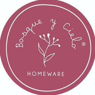 Logo de Bosque y Cielo Homeware ®