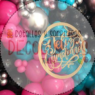 Logo de DECORACION CON GLOBOS / Tulua🤩