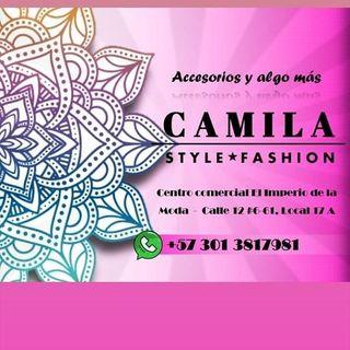 Logo de Camila Style Fashion