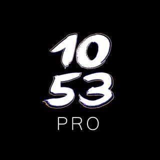 Logo de 1053PRO #FLOWINMORTAL