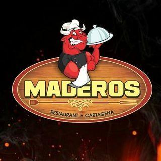 Logo de Maderos Restaurant Cartagena.
