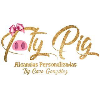 Logo de #alcanciaspersonalizadas