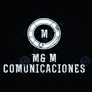 Logo de M&M COMUNICACIONES