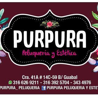 Logo de Púrpura Peluquería y Estética