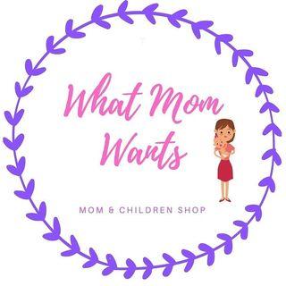 Logo de What Mom Wants/ Baby Shop