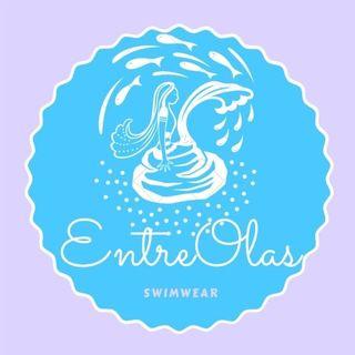 Logo de EntreOlas. Bikinis