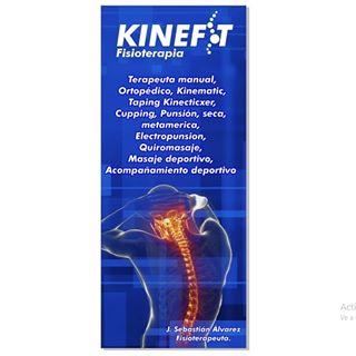 Logo de kineFit  Fisioterapia