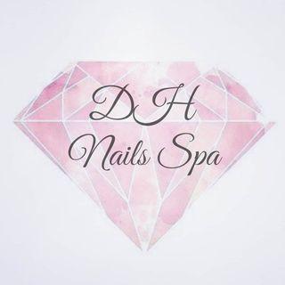 Logo de DH nails