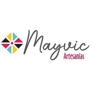 Logo de Mayvic Artesanías 🧶💫