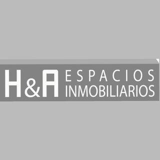 Logo de H&A espacios inmobiliarios