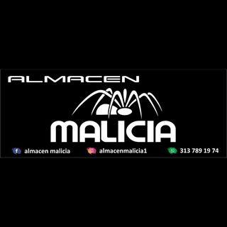 Logo de almacén malicia