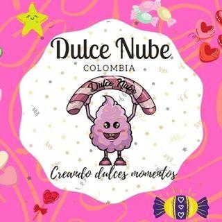 Logo de Dulce Nube/ Algodon de azúcar